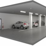 تقسیم پارکینگ و انباری در مشارکت در ساخت
